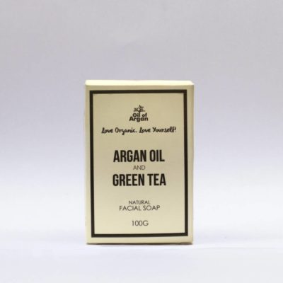 ARGAN SOAP WITH GREEN TEA EXTRACT 100G
